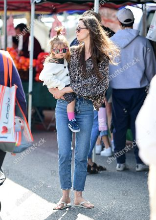 Editorial image of Summer Glau and Val Morrison out and about, Los Angeles, USA - 23 Feb 2020