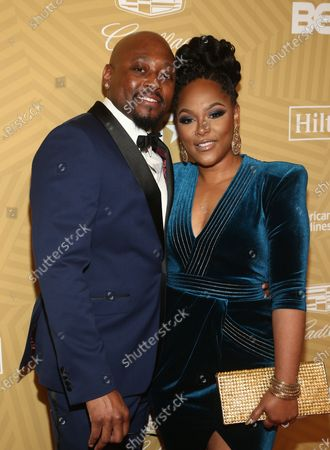 Stock Image of Omar Epps and Keisha Epps