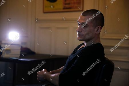 Editorial photo of Russian Provocateur, Paris, France - 23 Feb 2020