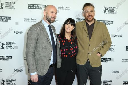 Stock Picture of Matthijs Wouter Knol, Anna Richardson and Jason Segel