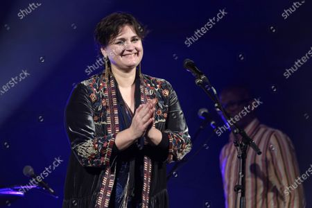 Editorial photo of Madeleine Peyroux in concert at Le Trianon, Paris, France - 25 Nov 2019