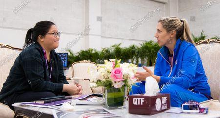 Editorial picture of WTA Qatar Total Open, Tennis, Doha, Qatar - 25 Feb 2020