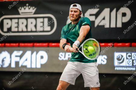 Editorial picture of Bergamo Challenger ATP Tennis Internationals, Italy - 22 Feb 2020