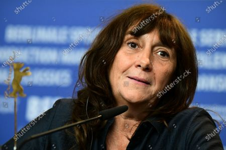 Stock Image of Sylvie Pialat attends the 'Effacer l'historique' (Delete History) press conference during the 70th annual Berlin International Film Festival (Berlinale), in Berlin, Germany, 24 February 2020. The movie is presented in the Official Competition at the Berlinale that runs from 20 February to 01 March 2020.