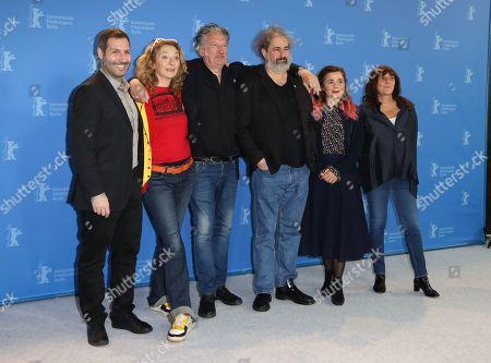 Corinne Masiero, Benoit Delepine, Gustave Kervern, Blanche Gardin and Sylvie Pialat