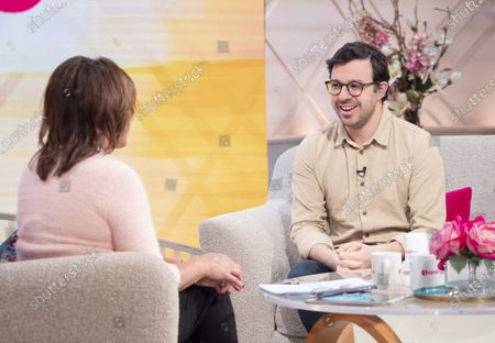 Stock Image of Lorraine Kelly and Simon Bird