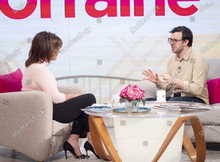 Editorial image of 'Lorraine' TV show, London, UK - 24 Feb 2020