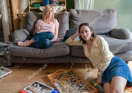Claudie Blakley as Helen and Lydia Leonard as Natalie.