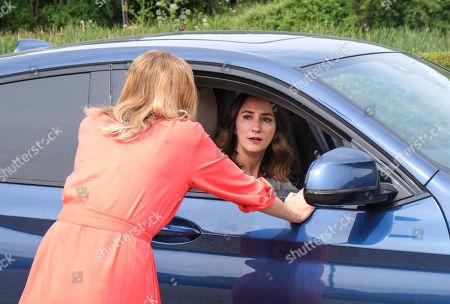 Stephanie Langton as Carla and Lydia Leonard as Natalie.