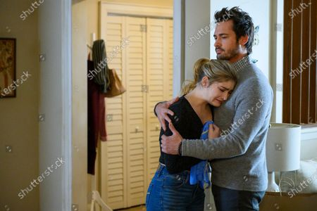 Willow Shields as Serena Baker and Will Kemp as Mitch Saunders