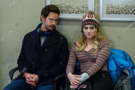 Will Kemp as Mitch Saunders and Willow Shields as Serena Baker