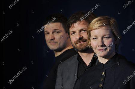 Stock Image of Misel Maticevic, Visar Morina and Sandra Huller