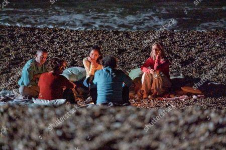 Russell Tovey as Jake, Lydia Leonard as Natalie, Claudie Blakley as Helen, Francesca Annis as Vivien and Stephen Rea as Mark.
