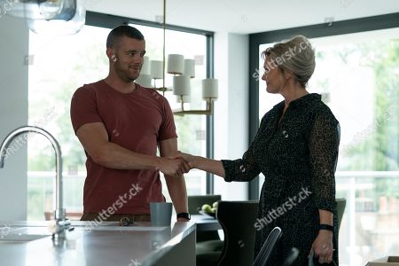 Russell Tovey as Jake and Sharon Small as Stella.