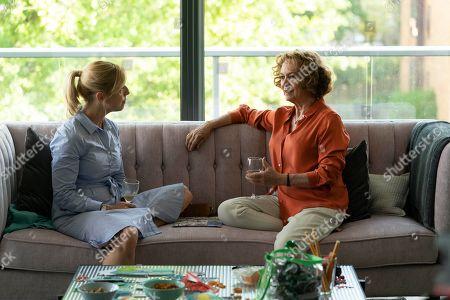 Claudie Blakley as Helen and Francesca Annis as Vivien.