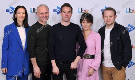 Sian Clifford, Mark Bonnar, James Graham, Helen McCrory and Michael Jibson