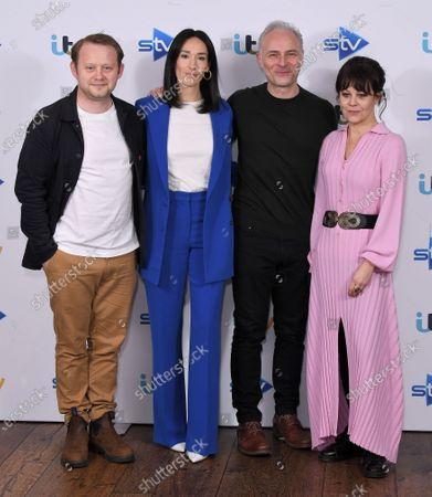 Michael Jibson, Sian Clifford, Mark Bonnar and Helen McCrory