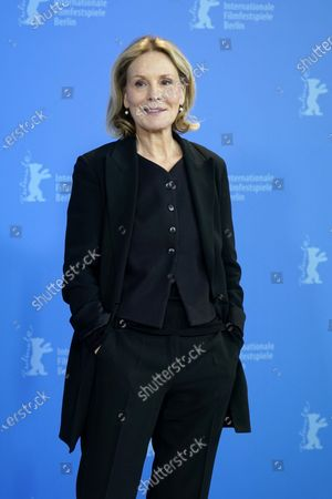 Marthe Keller poses during the 'Schwesterlein' (My Little Sister) photocall during the 70th annual Berlin International Film Festival (Berlinale), in Berlin, Germany, 24 February 2020. The movie is presented in the Official Competition at the Berlinale that runs from 20 February to 01 March 2020.