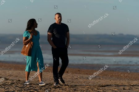 Lara Rossi as Leila and Russell Tovey as Jake.