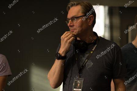 Stock Photo of Mark Burnell Novelist and Screenwriter