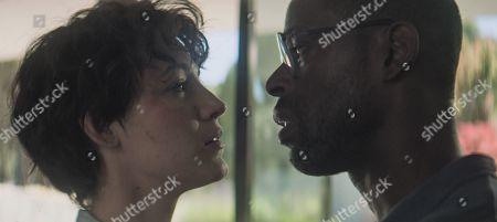 Blake Lively as Stephanie Patrick and Sterling K. Brown as Mark Serra