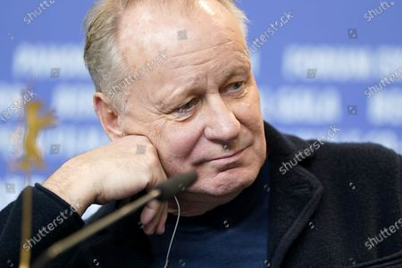 Stellan Skarsgard attends the press conference for 'Hope' (Hap) during the 70th annual Berlin International Film Festival (Berlinale), in Berlin, Germany, 24 February 2020. The movie is presented in the Panorama section at the Berlinale that runs from 20 February to 01 March 2020.