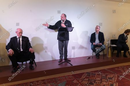 Editorial picture of Press conference for Julian Assange's Release, Paris, France - 20 Feb 2020