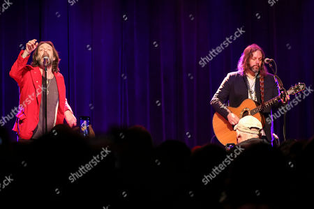 Chris Robinson, Rich Robinson. Chris Robinson and Rich Robinson of The Black Crowes perform as Brothers of a Feather at Terminal West, in Atlanta