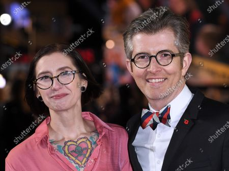 Stock Picture of Samantha Stevenson and Gareth Malone