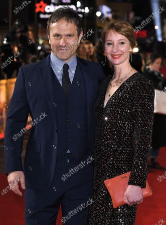 Stock Image of Emma Lowndes and Jason Merrells