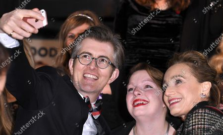 Stock Image of Gareth Malone and Kristin Scott Thomas