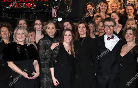 Editorial image of 'Military Wives' film premiere, London, UK - 24 Feb 2020