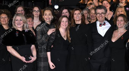 Gareth Malone, Sharon Horgan and Kristin Scott Thomas