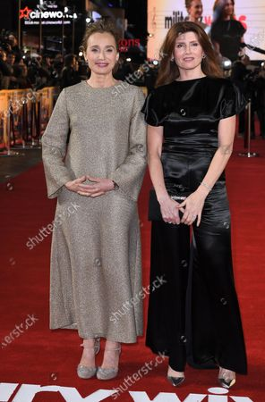 Sharon Horgan and Kristin Scott Thomas