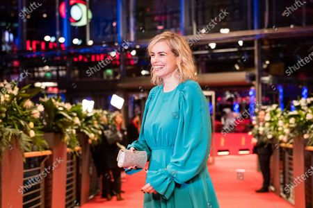 Nina Hoss arrives for the premiere of 'Schwesterlein' (My Little Sister) during the 70th annual Berlin International Film Festival (Berlinale), in Berlin, Germany, 24 February 2020. The movie is presented in the Official Competition at the Berlinale that runs from 20 February to 01 March 2020.