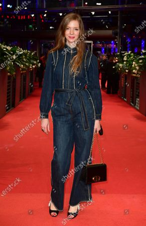 Pheline Roggan at the premiere of 'Schwesterlein' (My Little Sister) during the 70th annual Berlin International Film Festival (Berlinale), in Berlin, Germany, 24 February 2020. The movie is presented in the Official Competition at the Berlinale that runs from 20 February to 01 March 2020.