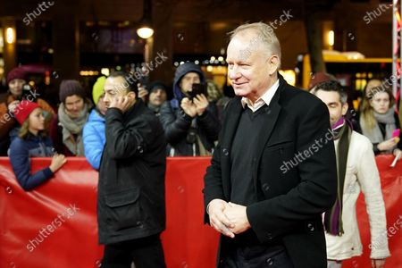 Stellan Skarsgard arrives for the premiere of 'Hap' (Hope) during the 70th annual Berlin International Film Festival (Berlinale), in Berlin, Germany, 24 February 2020. The movie is presented in the Panorama section at the Berlinale that runs from 20 February to 01 March 2020.
