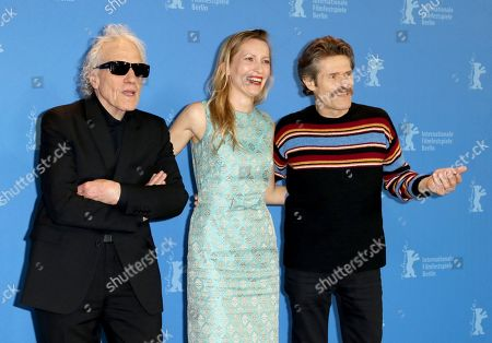 Abel Ferrara, Dounia Sichov and Willem Dafoe