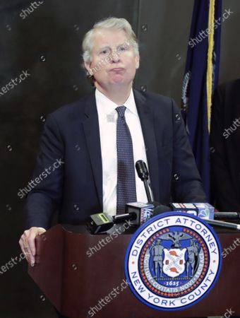 Manhattan District Attorney, Cyrus Vance Jr. addresses members of the media after former Hollywood producer Harvey Weinstein was found guilty of a felony sex crime and rape, but acquitted of the most serious charges against him, predatory sexual assault, at New York State Supreme Court in New York, New York, USA, 24 February 2020.