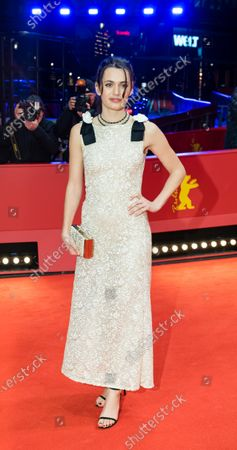 Stock Photo of Ella Rumpf arrives for the European Shooting Stars 2020 ceremony during the 70th annual Berlin International Film Festival (Berlinale), in Berlin, Germany, 24 February 2020. The movie is presented in the Official Competition at the Berlinale that runs from 20 February to 01 March 2020.