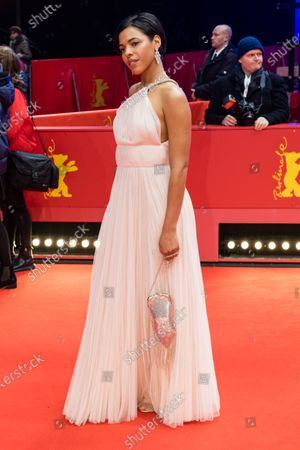 Zita Hanrot arrives for the European Shooting Stars 2020 ceremony during the 70th annual Berlin International Film Festival (Berlinale), in Berlin, Germany, 24 February 2020. The movie is presented in the Official Competition at the Berlinale that runs from 20 February to 01 March 2020.
