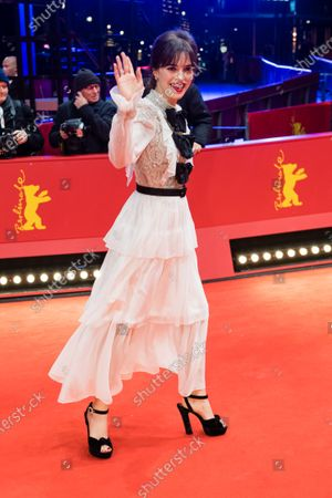Stock Picture of Joana Ribeiro arrives for the European Shooting Stars 2020 ceremony during the 70th annual Berlin International Film Festival (Berlinale), in Berlin, Germany, 24 February 2020. The movie is presented in the Official Competition at the Berlinale that runs from 20 February to 01 March 2020.