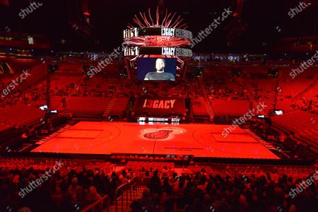 Editorial image of 'L3gacy Celebration' documentary screening, AmericanAirlines Arena, Miami, USA - 23 Feb 2020