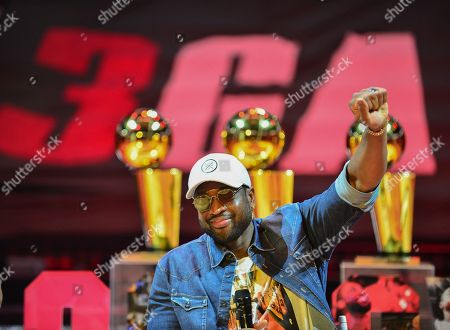 Dwyane Wade discusses role in creating his documentary during An early access screening of Imagine Entertainment and ESPN Films' definitive Dwyane Wade documentary, which chronicles the star's life on and off the court with never-before-seen footage presented by Gatorade Zero at AmericanAirlines Arena
