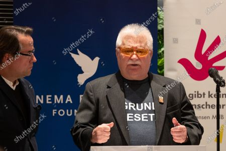 Editorial photo of Cinema for Peace Dinner at Reichstag in Berlin, Germany - 24 Feb 2020