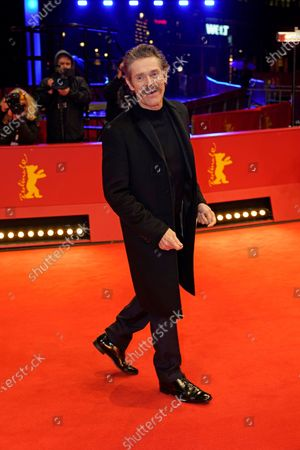 Willem Dafoe arrives for the premiere of 'Siberia' during the 70th annual Berlin International Film Festival (Berlinale), in Berlin, Germany, 24 February 2020. The movie is presented in the Official Competition at the Berlinale that runs from 20 February to 01 March 2020.