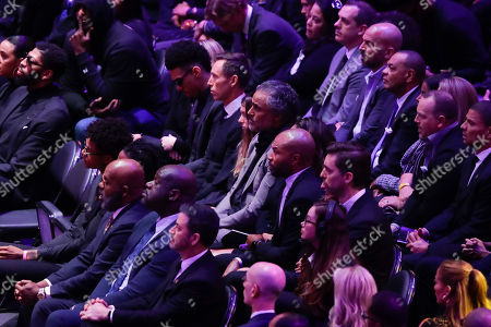Editorial picture of Kobe Bryant Memorial Basketball, Los Angeles, USA - 24 Feb 2020