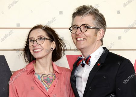 Samantha Stevenson and Gareth Malone