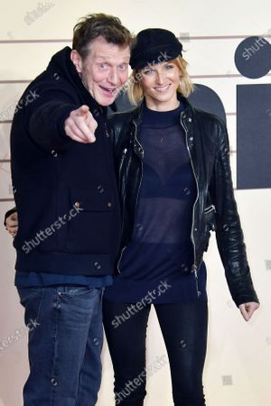 Jason Flemyng and Elly Fairman