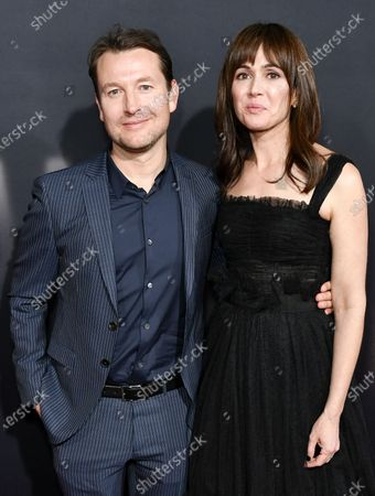 Stock Picture of Leigh Whannell and Corbett Tuck
